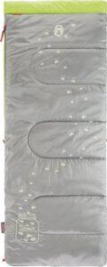 Coleman Glow-in-the-dark Kinderslaapzak - 167 x 66 cm - Groen-grijs