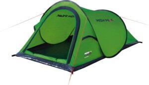 High Peak Campo - Pop-up tent - 2-Persoons - Groen