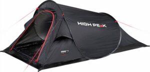 High Peak Campo - Pop-up tent - 2-Persoons - Zwart