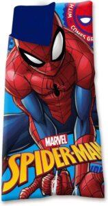 Marvel Slaapzak Spider-man Jongens 70 X 140 Cm Polyester Blauw