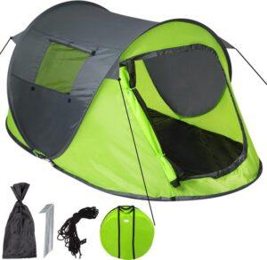 TecTake - Pop-up tent waterdicht groen - grijs
